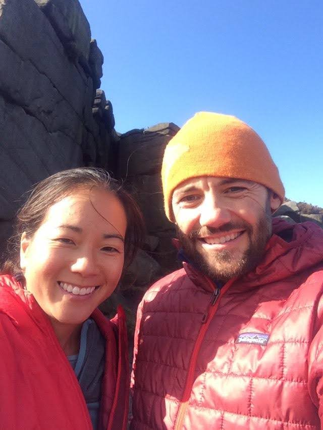 The Climbing Nomads, Brett Ffinch and Sophie Cheng